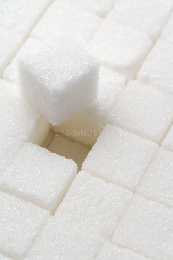 Zuckerwürfel lizenzfreies stockfoto