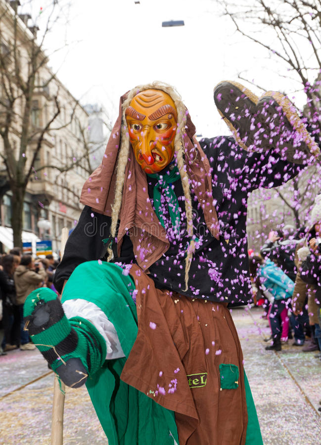 Download ZueriCarneval Fasnacht Zurich, Switzerland Editorial Stock Photo - Image: 23597853