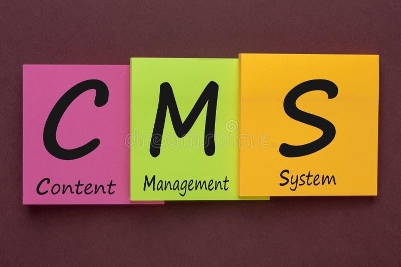 Zufriedenes Management-System lizenzfreies stockfoto