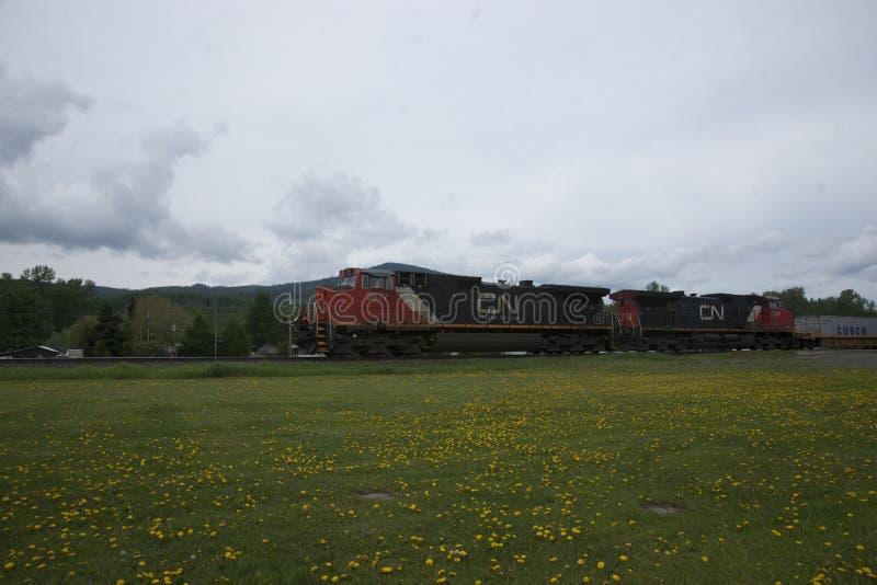 Zug-Maschine stockfotos