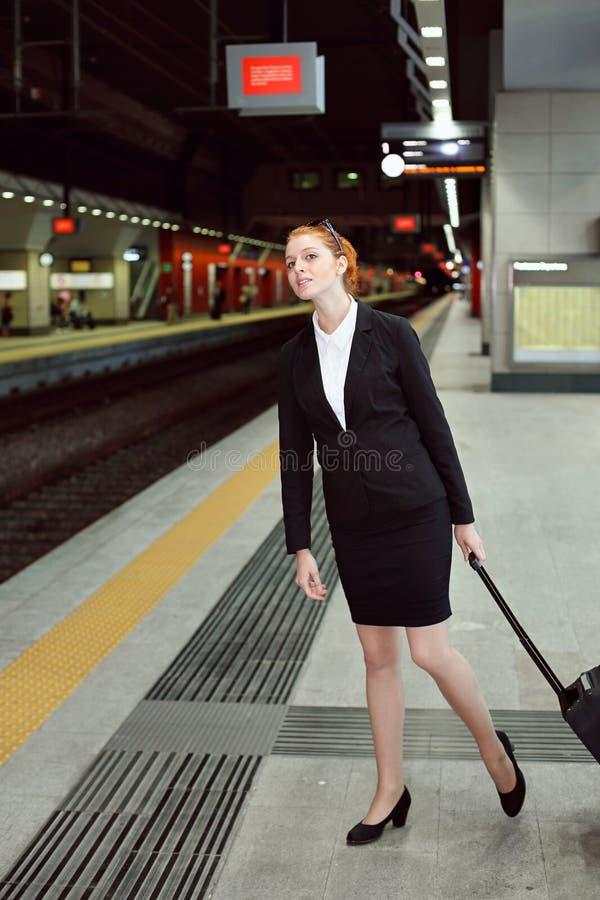 Zug verfehlt lizenzfreies stockfoto