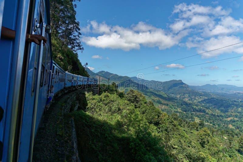 Zug zu Ohiya stockfotos