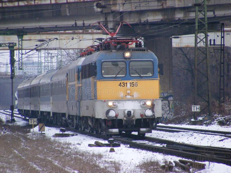 Zug zwei v43 lizenzfreies stockbild