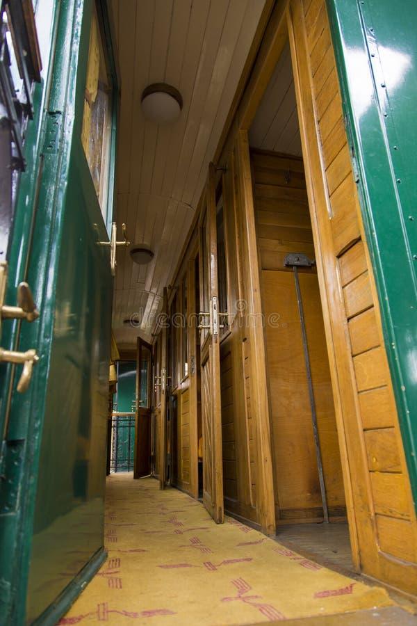 Zugausstellung bei Gara de Nord lizenzfreies stockbild