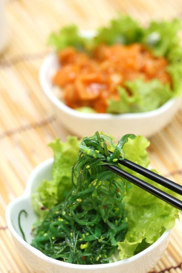 Zugebereitete und köstliche japanische Nahrung lizenzfreie stockfotografie