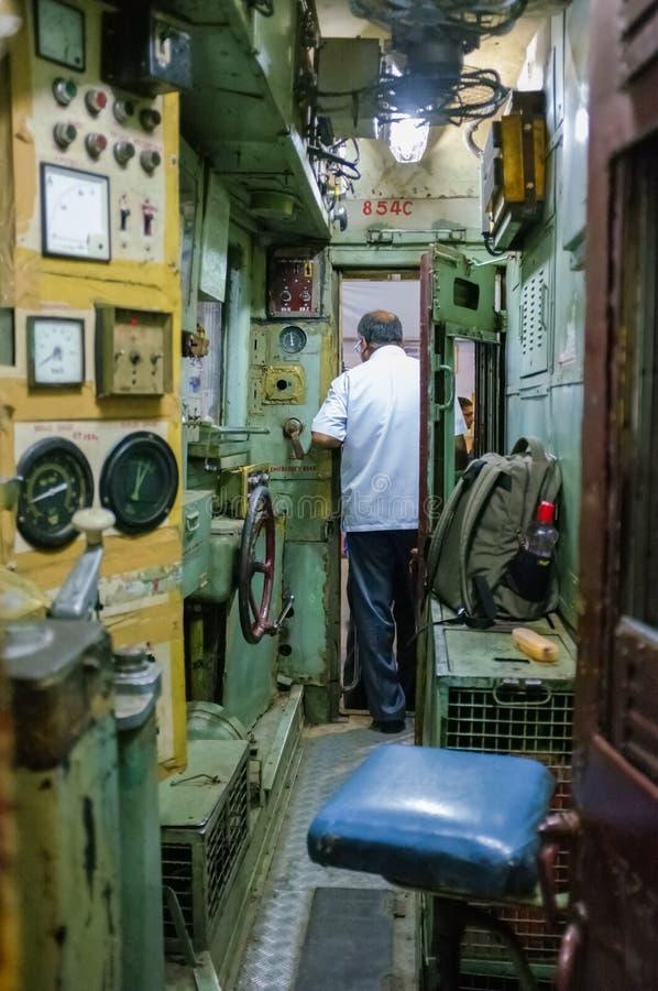 Zugfahrer lizenzfreies stockbild