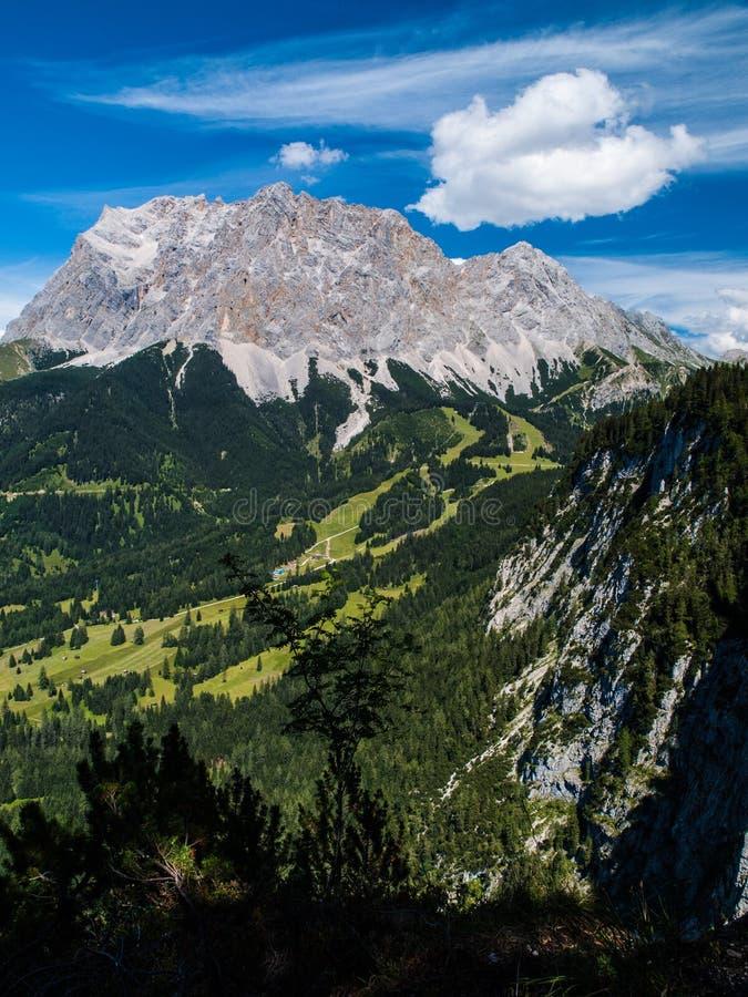 Zugspitze стоковое изображение