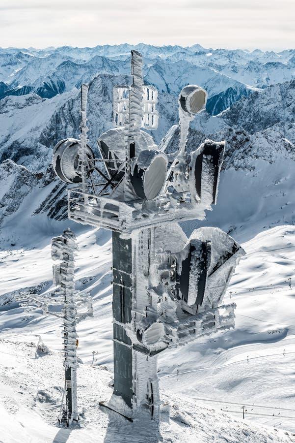 Zugspitze fotografia stock libera da diritti