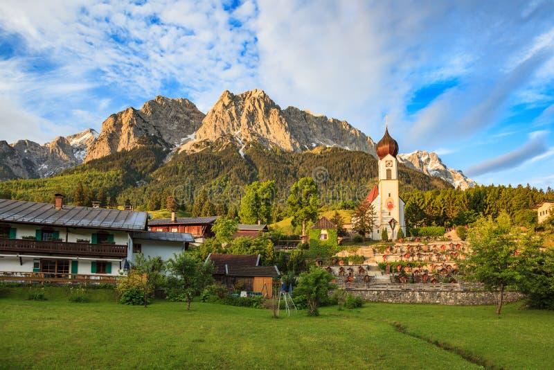 Zugspitze fotos de archivo libres de regalías