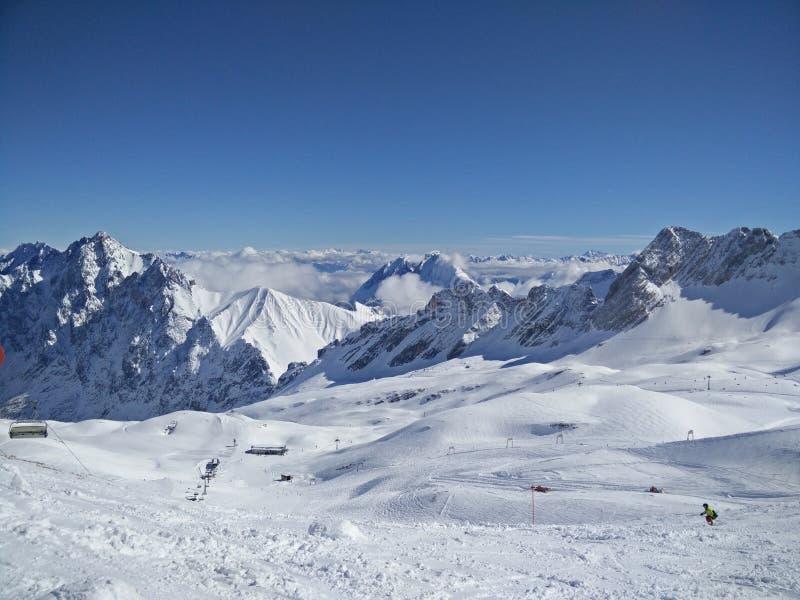 Zugspitze zdjęcie royalty free