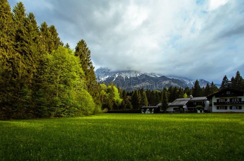 Zugspitze, Alemania fotografía de archivo