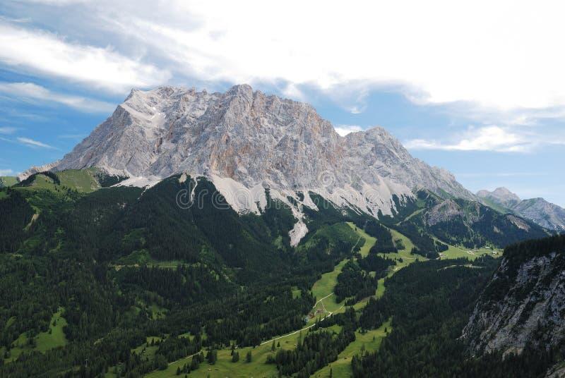 Zugspitze de Ehrwald (Áustria) imagens de stock royalty free