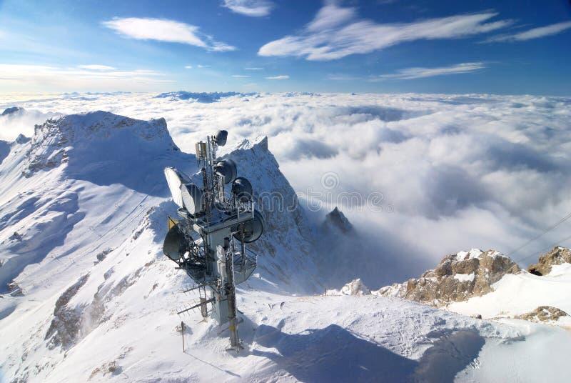 Zugspitze Mountain Royalty Free Stock Photo