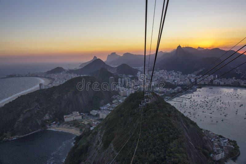 Zuid-Amerika, Brazilië, Rio de Janeiro State, Rio de Janeiro-stad royalty-vrije stock foto