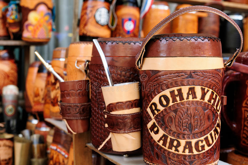 Zuid-Amerika - Paraguay stock foto's
