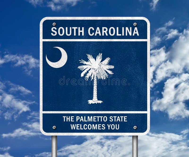 Zuid- Carolina royalty-vrije illustratie
