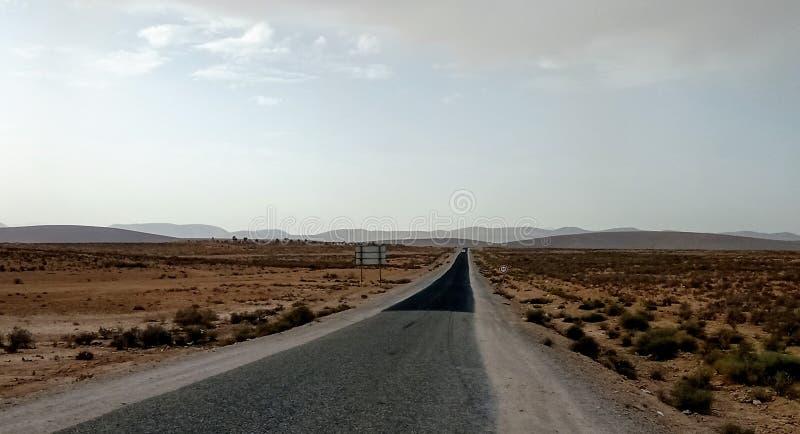 Zuid-Marokko : Tiznit Ouijjane Road stock foto
