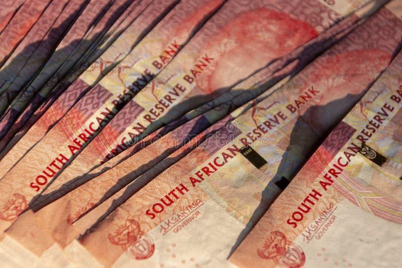 Zuidafrikaans geld royalty-vrije stock afbeeldingen