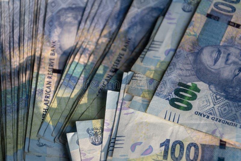Zuidafrikaans geld stock foto's