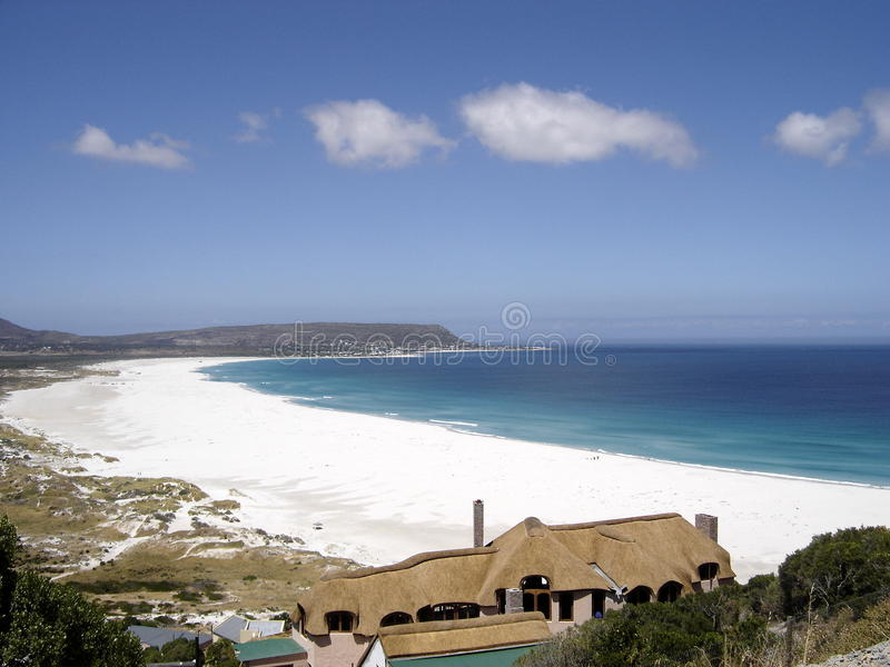 Zuidafrikaans strand stock foto's