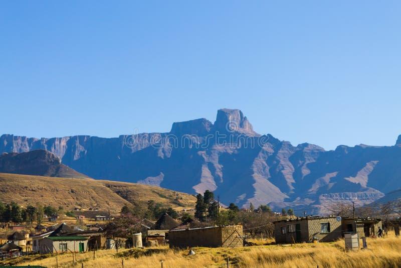 Zuidafrikaanse sloppenwijk royalty-vrije stock fotografie