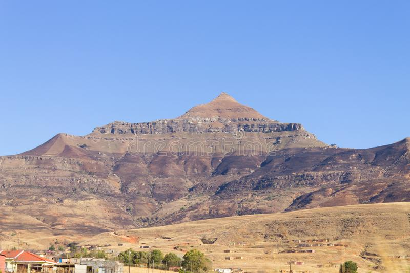 Zuidafrikaanse sloppenwijk royalty-vrije stock foto