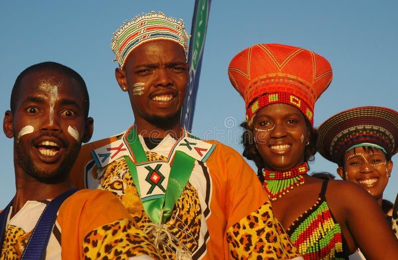 Zuidafrikaanse traditionele mensen