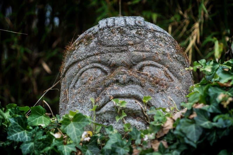 Zuidamerikaans standbeeld stock foto's