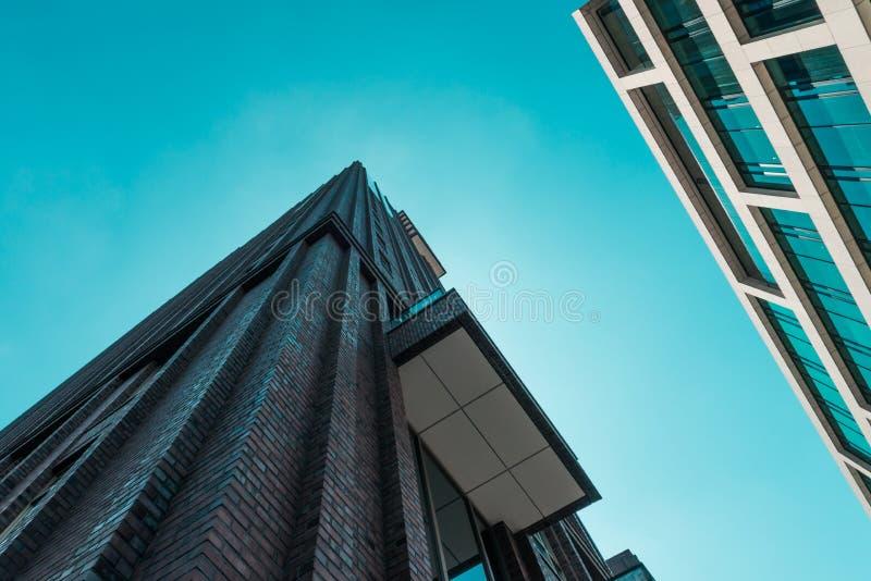 Zuidas in amsterdam, Gustav Mahlerlaan, Sky scrapers. Amsterdam, Gustav Mahlerlaan, the Netherlands, 05/29/2019, Sky scrapers, Modern office buildings in stock photos