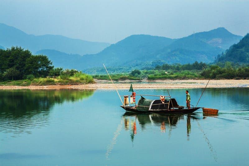 Zuidelijk China in de lente stock afbeelding