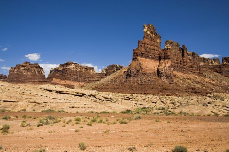 Zuidelijk Utah Mesa 3 stock afbeelding