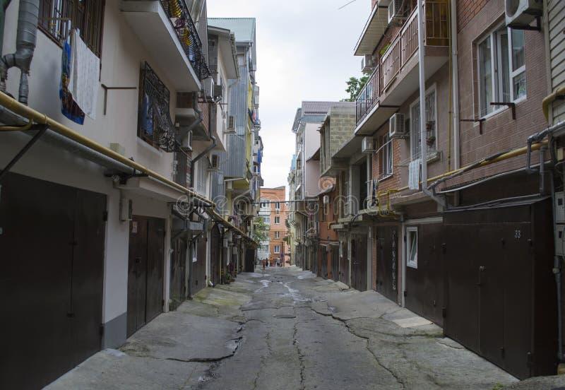 Zuidelijke favelas van Rusland stock foto's
