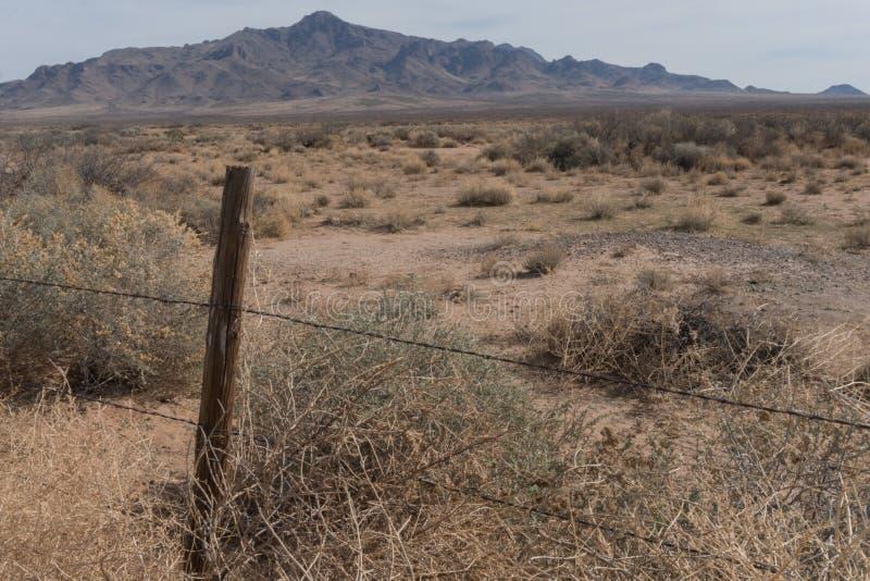 Zuidelijke mening van de Bergen van Florida in New Mexico stock afbeeldingen