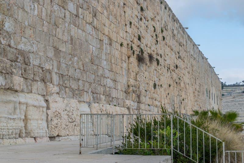 Zuidelijke muur van Tempel royalty-vrije stock foto