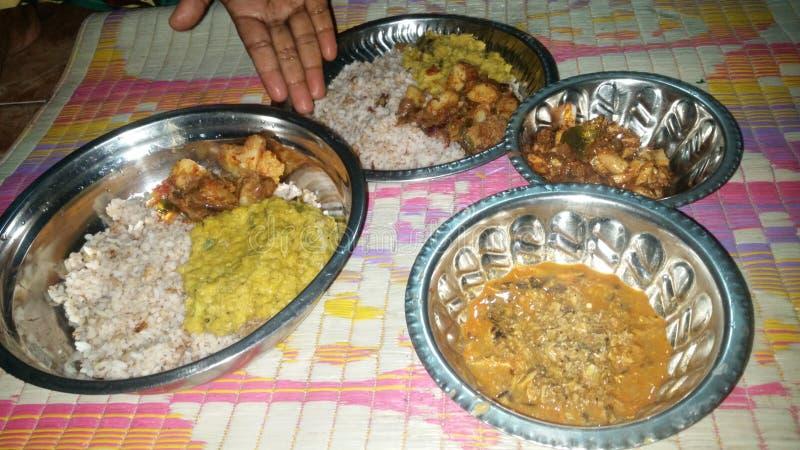 Zuiden Aziatisch voedsel India stock afbeelding