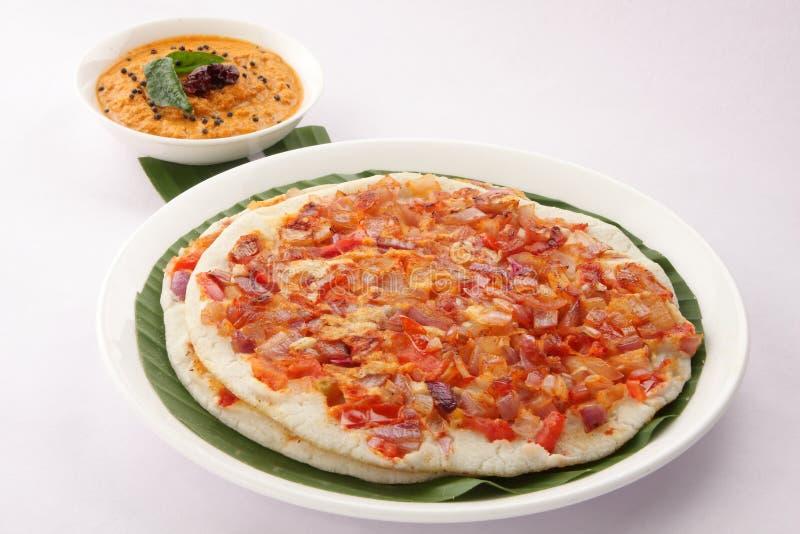Zuiden Indisch ontbijt utappam stock fotografie