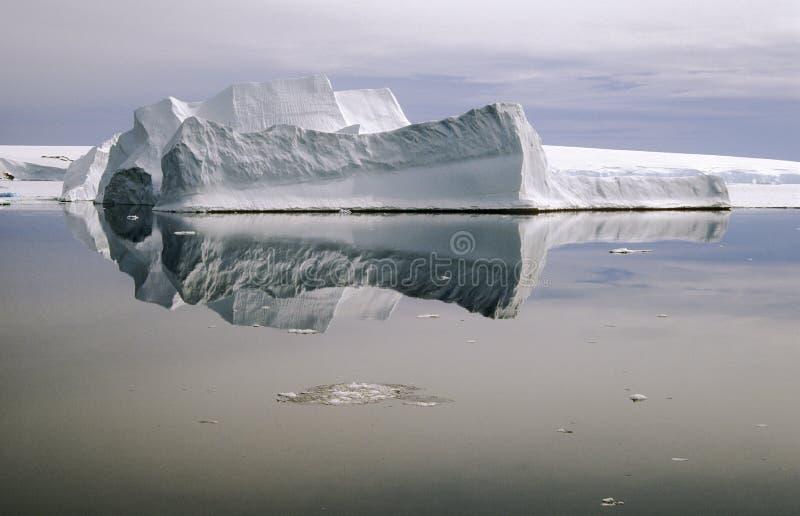 Zuiden van de Antarctische Cirkel stock foto