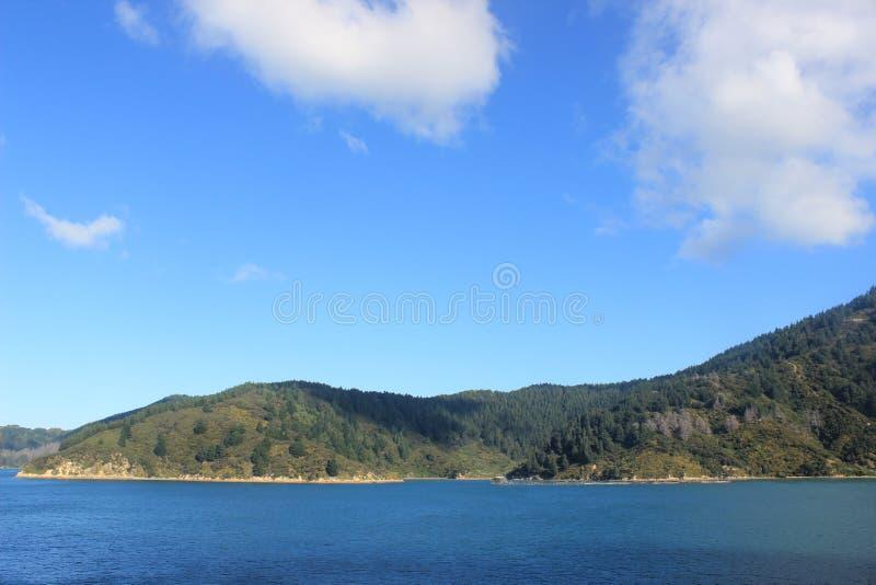 Zuideneiland Nieuw Zeeland, kokstraat royalty-vrije stock afbeeldingen