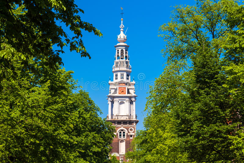 Zuiderkerk, Άμστερνταμ, οι Κάτω Χώρες στοκ εικόνες