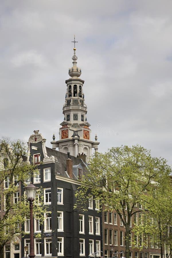Zuiderkerk (Zuidelijke kerk) in Amsterdam nederland royalty-vrije stock fotografie
