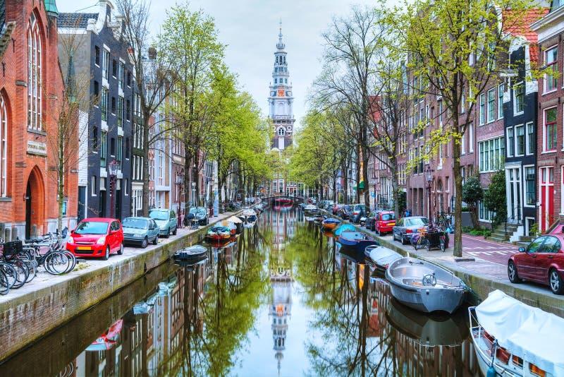 Zuiderkerkkerk in Amsterdam stock afbeeldingen
