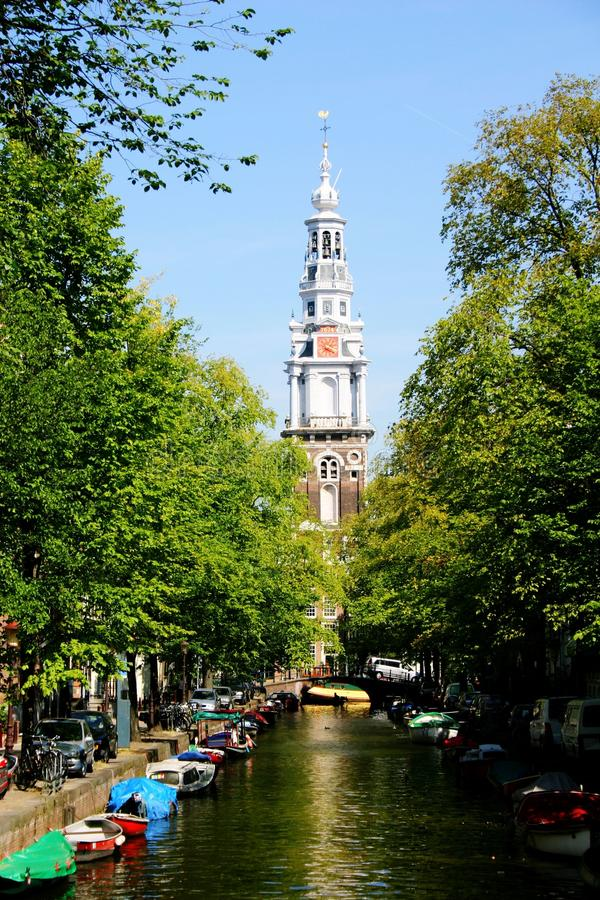 Zuiderkirk Амстердам стоковые изображения rf