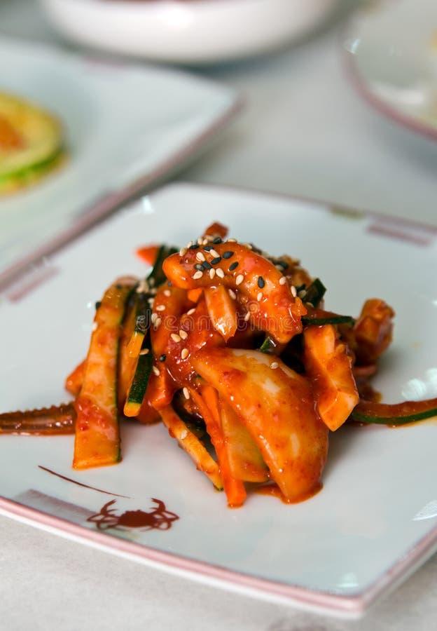 Zuidkoreaanse keuken stock foto's