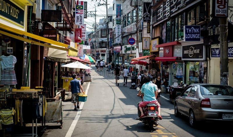 Zuidkoreaanse markt royalty-vrije stock fotografie