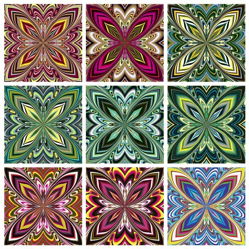 Zuidoostaziatisch Art Design royalty-vrije illustratie