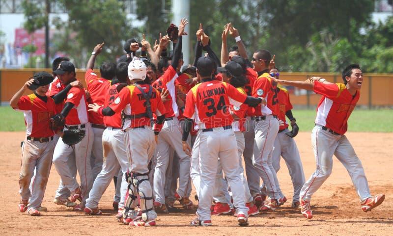 Zuidoostaziatische Spelen in Palembang stock foto's