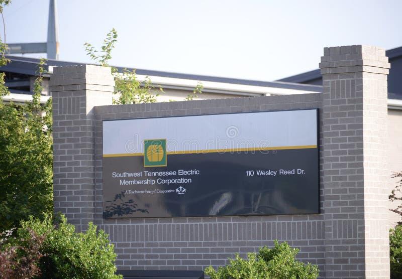 Zuidwesten Tennessee Electric Membership Corporation royalty-vrije stock foto