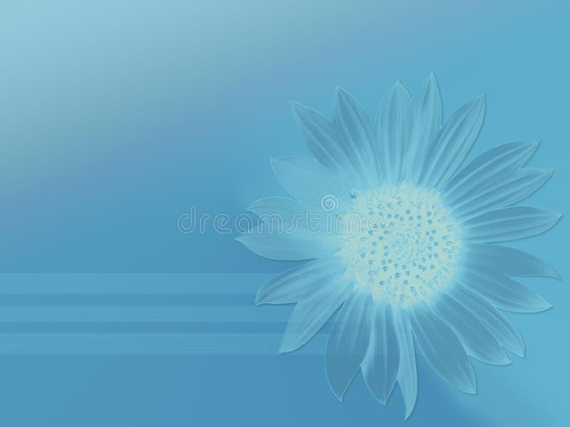 Zuiver blauw vector illustratie