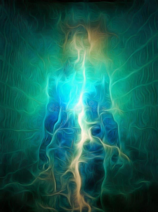 Zuivere energie vector illustratie