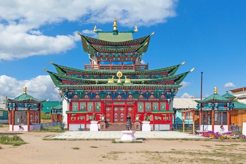 Zuivere Land Boeddhistische tempel royalty-vrije stock afbeelding